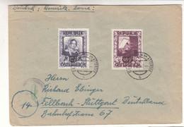 Autriche - Lettre De 1947 - Oblit Seewalchen Am Attersee - Exp Vers Stuttgart - Avec Censure - Valeur 50 Euros - 1945-60 Cartas