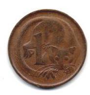 1966 - Australia 1 Cent - Cent