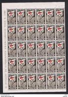 TRIESTE A:  1951  GIOCHI  DI  FIRENZE  -  S. CPL. 3  VAL. BLOCCHI  30  N. -  SASS. 116/18 - Mint/hinged