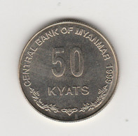 BIRMANIE - 50 KYATS 1999 - Myanmar