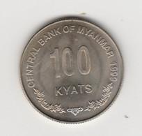 BIRMANIE - 100 KYATS 1999 - Myanmar