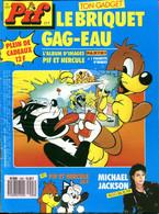 Pif Gadget N°1093  De Mars 1990 Avec 3 Gadgets De Couleurs Différentes - Pif Gadget