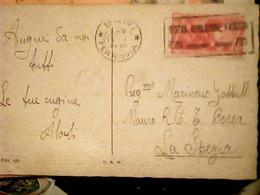 BORGOGNONI ILLUSTRATA LUCE GRIGIA VB1935 X MARCIA SU ROMA BIMBI  BALILLA  C.20 Isolato   IF9877 - Marcophilia