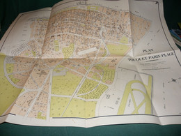 PLAN DE TOUQUET - PARIS - PLAGE - Carte Geographique