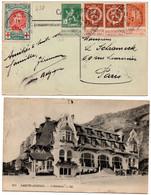 N 802Le Havre Spécial Gemengde Frankering 25/7/1915 - 1912 Pellens