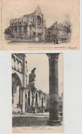 LONGPONT  ( 02 )  2  C P A  RUINES  DE  L'ABBAYE  DE  CITEAUX  -  ( 21 / 9 / 249  ) - Other Municipalities