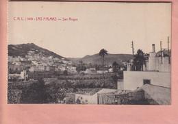 OLD POSTCARD SPAIN - GRAN CANARIA -  LAS PALMAS - SAN ROQUE - Gran Canaria