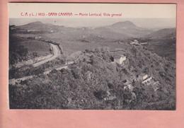 OLD POSTCARD SPAIN - GRAN CANARIA -  MONTE LENTISCAL - Gran Canaria