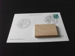 Cartolina Postale 5° MOSTRA FILATELICA MONTEVARCHI AREZZO 4° CENTENARIO NASCITA F. MOCHI  1980 - Beursen Voor Verzamellars