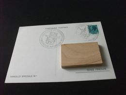 Cartolina Postale III° MOSTRA FILATELICA NUMISMATICA CASTELNUOVO GARFAGNANA LUCCA CAMPORGIANO  1979 - Beursen Voor Verzamellars