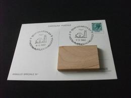 Cartolina Postale 5°MOSTRA FILATELICA NUMISMATICA SERAVEZZA LUCCA 1980 - Beursen Voor Verzamellars