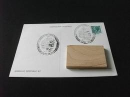 Cartolina Postale VII°MOSTRA FILATELICA NUMISMATICA BAGNI DI LUCCA 1980 - Beursen Voor Verzamellars