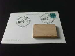 Cartolina Postale 4° MOSTRA FILATELICA NUMISMATICA SERAVEZZA LUCCA 1979 - Beursen Voor Verzamellars
