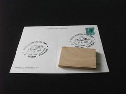 Cartolina Postale 4° MOSTRA FILATELICA MONTEVARCHI AREZZO 1979 COMUNE D'EUROPA - Beursen Voor Verzamellars