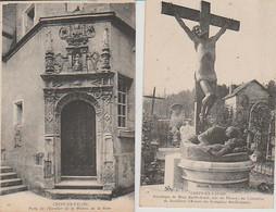 CRÉPY  EN  VALOIS  ( 02 )  RUINES  DE  L'ÉGLISE  SAINTE  AGATHE  - C P A    ( 21 / 9 / 251  ) - Other Municipalities