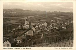 Compolibat * Vue Générale Du Village * Panorama * Vignes Vignoble - Altri Comuni