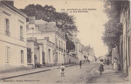 CHATEAU DU LOIR  Rue Nationale - Chateau Du Loir