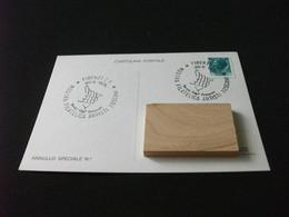 Cartolina Postale MOSTRA FILATELICA ARTISTI TOSCANI FIRENZE C.P. 1979 SERVIZI DISTACCATI - Beursen Voor Verzamellars