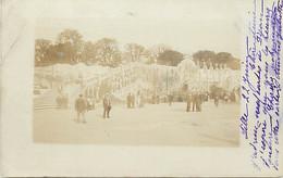 -dpts D-ref-AX93- Nord - Lille - Carte Photo - Exposition 1902 - La Riviere Styx - Circulé En 1902 - - Lille
