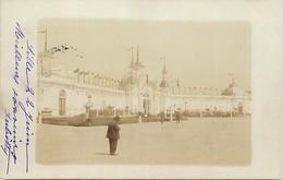 -dpts D-ref-AX92- Nord - Lille - Carte Photo - Exposition 1902 - Le Palais Des Arts Libéraux - Circulé En 1902 - - Lille