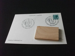 Cartolina Postale XXV° CONVEGNO FILATELICO FIORENTINO FIRENZE C.P. 1980 - Beursen Voor Verzamellars
