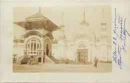 -dpts D-ref-AX90- Nord - Lille - Carte Photo - Exposition 1902 - Chalet Depays Sarasin Et Cie - Circulé En 1902 - - Lille