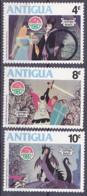 Antigua - 1980 - Disney - Christmas - Y&T 603/05 -  MNH ** - Neuf - - Antigua Y Barbuda (1981-...)