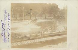 -dpts D-ref-AX87- Nord - Lille - Carte Photo - Exposition 1902 -jeux D Eau -publicités Vichy Celestin Et Delespaul Hayez - Lille