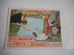 DEVOTIE-LITH BRUGES DESCLEE-BRUGES 1907-OUDERDOMSVLEKKEN RUGZIJDE - Godsdienst & Esoterisme