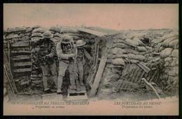 PORTUGAL -«1ª GUERRA MUNDIAL»-Os Portuguezes Na Frente De Batalha -Preparando As Armas(Ed.Levy Fils & Cª)carte Postale - Oorlog 1914-18