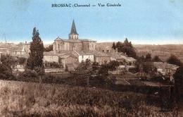 CPA -  BROSSAC  (16)  Vue Générale - Other Municipalities
