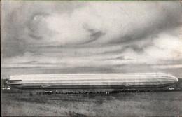 ! Alte Ansichtskarte Zeppelin Landung In Loiching Bei Landshut, Bayern, 1.4.1909, Gel. Nach Frankreich Poitiers - Luchtschepen