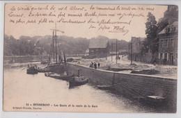 Hennebont - Les Quais Et La Route De La Gare - Hennebont