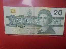 CANADA 20$ 1991 Circuler - Canada