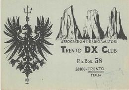 QSL Card - Trento - Italy -  H7734 - Radio Amateur