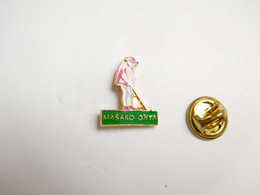 Superbe Pin's , Golf , Masako Ohya - Golf