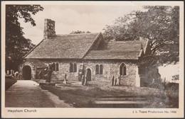 Heysham Church, Lancashire, 1950 - JL Topaz RP Postcard - Other