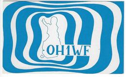 QSL Card - Pori - Finland - H7743 - Radio Amateur