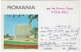 QSL Card - Romania - H7744 - Radio Amateur