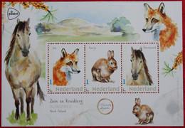 Vel Cheval Renard Lapin Vos Konijn Paard Fox Rabbit Horse 2021 POSTFRIS / MNH ** NEDERLAND  NETHERLANDS - Unused Stamps