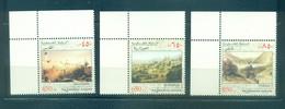 Palestine 2002- Historic City Views Set (3v) - Palestine