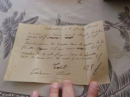 13/9. 16 -  Lettre De Change, Exhumations De La Famille Bernès , 4 Corps, à Mirande, 1899 - Cambiali