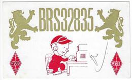 QSL Card - Scarborough - England - H7748 - Radio Amateur