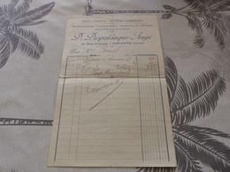 13/9. 19 - Facture ,  Quincaillerie, Carrosserie, Coffres Fort , D.Despalanque-Augé , MIRANDE, Gers, 1915 - Artigianato