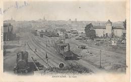 A/450                16   Angouleme            -  La Gare & Les Quais - Angouleme