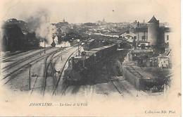 A/450                16   Angouleme            -  La Gare & Les Quais    (2) - Angouleme