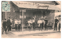CPA - Carte Postale -France-Sissonne Camp Lavabo 1906  VM37986 - Sissonne