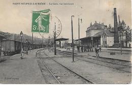 A/450                87      Saint-sulpice-lauriére              La Gare & Les Quais - Andere Gemeenten