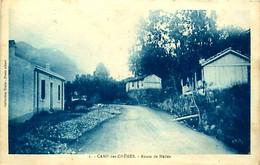 Cpa ALGERIE - CAMP DES CHENES - Route De Médéa - Other Cities