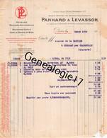 75 25811 PARIS SEINE 1919 Automobiles PANHARD - LEVASSOR Automobile Succ PERIN Avenue D Ivry Dest DE LA BASTIDE - Cars